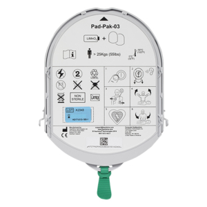Heartsine Samaritan PadPak batterij en elektroden