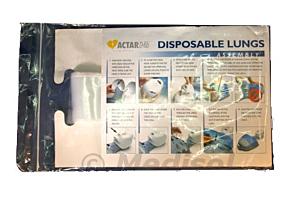 Actar D-Fib disposable longzakjes voordeelverpakking (20 sets à 50 stuks)