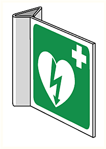 DefiSign AED Bord haaks