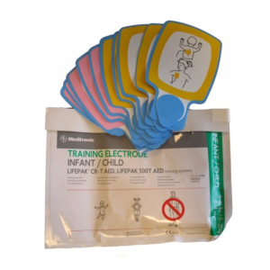 Physio-Control Lifepak CR Plus/ CR-T trainingselektrodenset kinderen