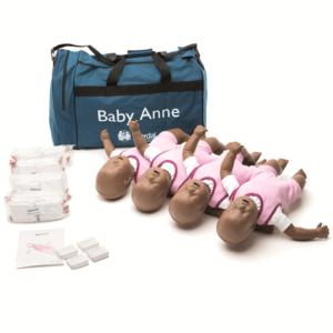 Laerdal Baby Anne 4 pack (donker)