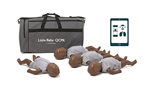 Laerdal Little Baby QCPR 4-Pack, Donkere Huid