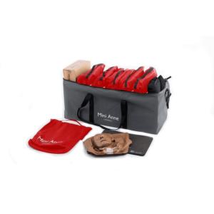 Laerdal Mini Anne Plus kit (donkere huid), set van 10