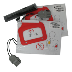 Physio-Control Lifepak CR Plus vervangingsset batterij en 2 paar elektroden