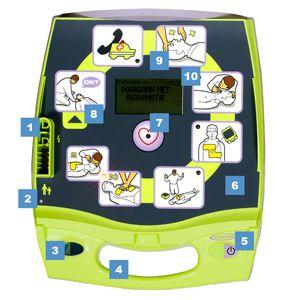 Zoll AED Plus nummeriek